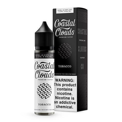 Coastal Clouds Tobacco Vape Juice 60ml
