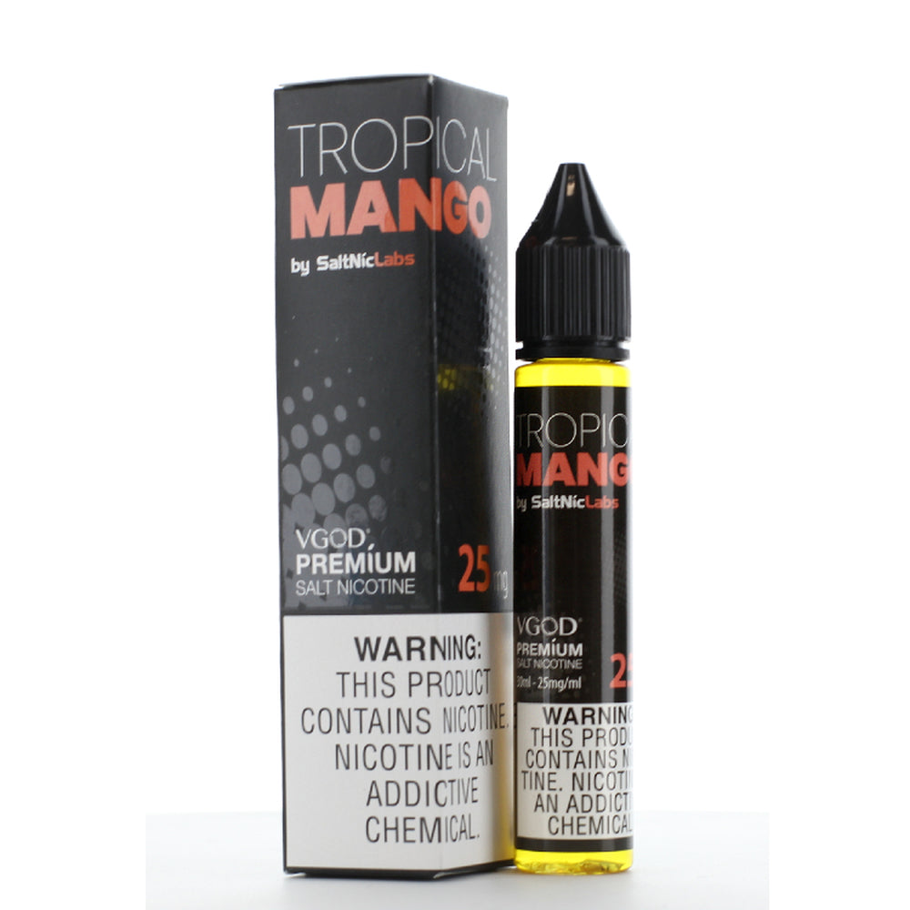 Vgod Tropical Mango Nic Salt Vape Juice 30ml