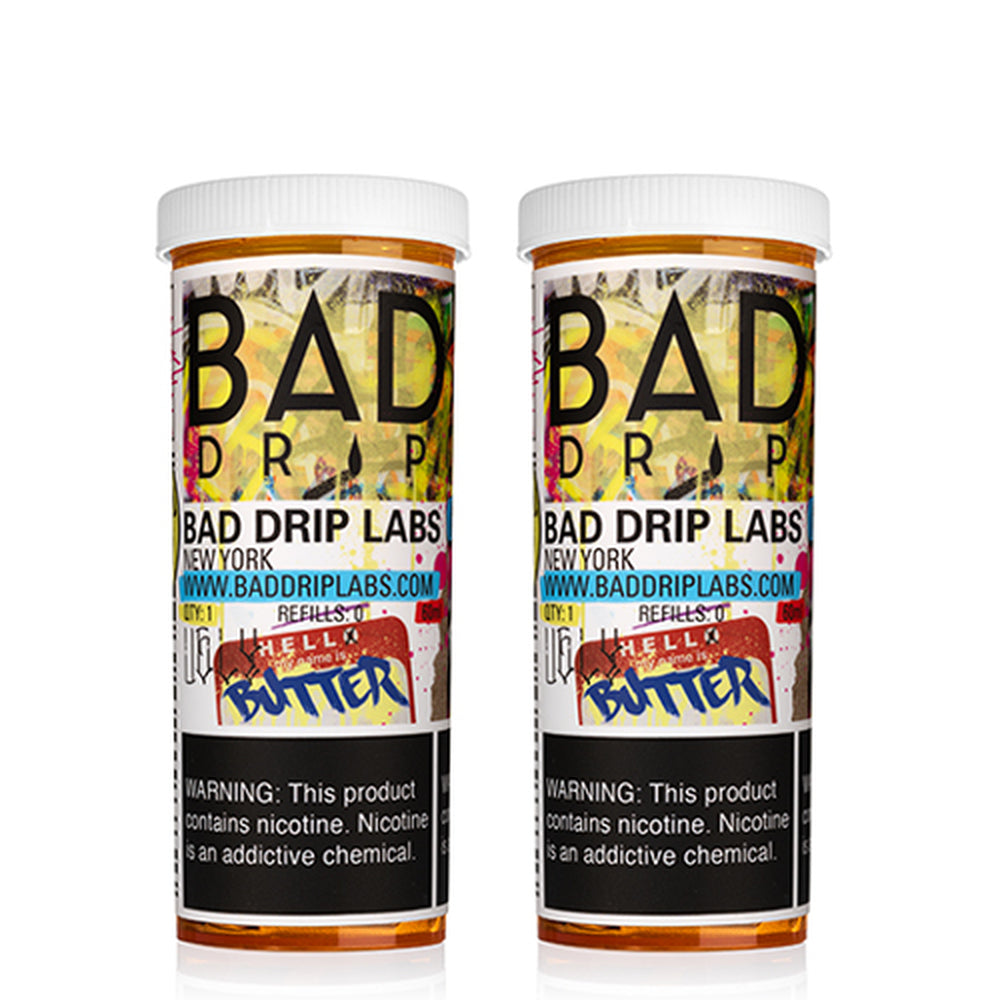 Bad Drip Ugly Butter Vape Juice 120ml