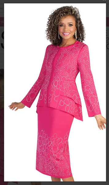 Liorah Knit Suits 7235 - Jazmine & Yazmine Designer Boutique