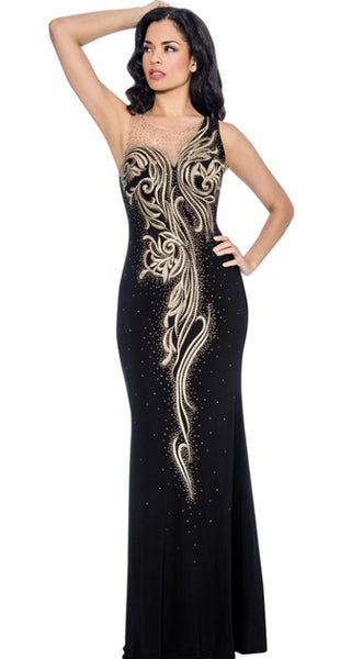 Annabelle Evening Dresses 8611 - Jazmine & Yazmine Designer Boutique