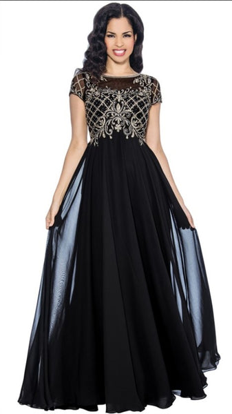 Annabelle Evening Dresses 8615 - Jazmine & Yazmine Designer Boutique