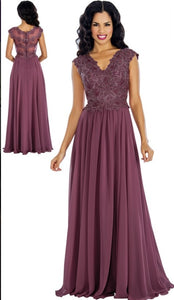 Annabelle Evening Dresses 8630