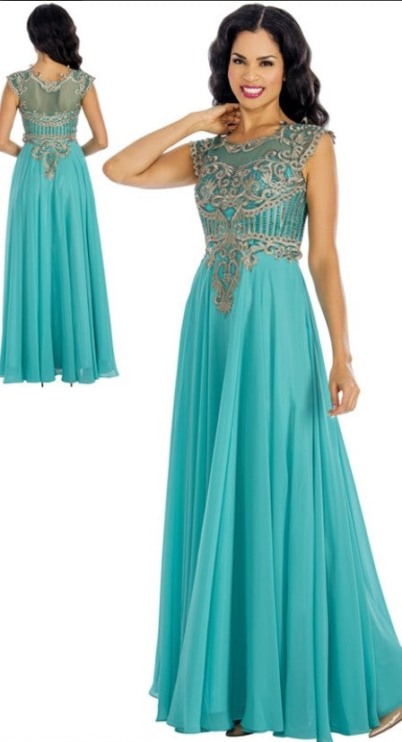 Annabelle Evening Dresses 8634