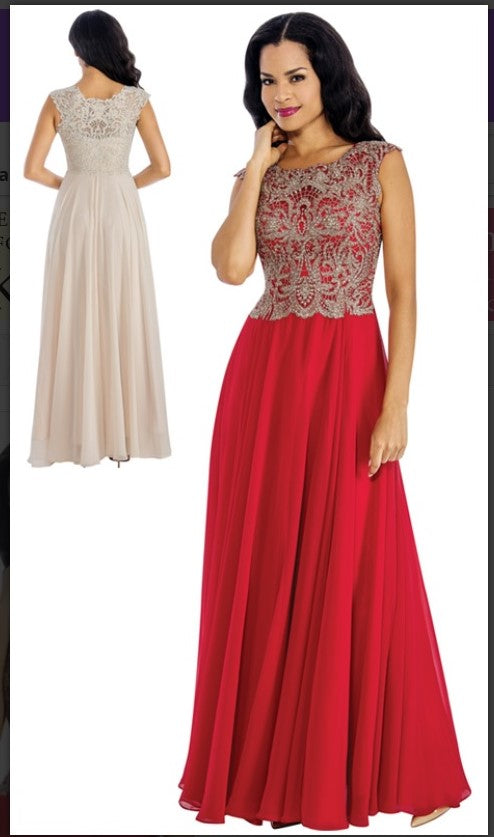 Annabelle Evening Dresses 8637