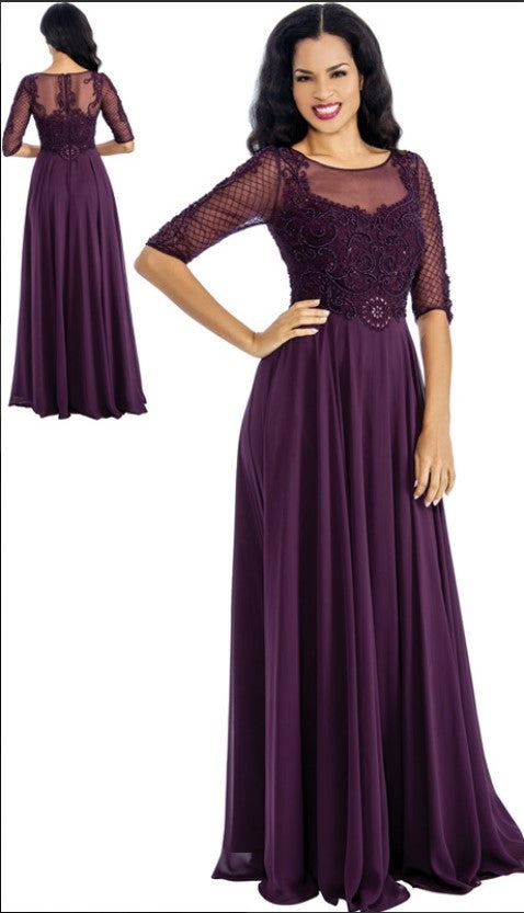 Annabelle Evening Dresses 8649