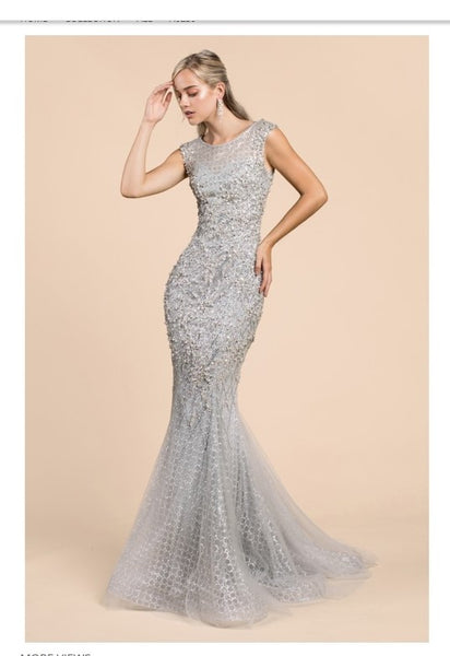 Andrea & Leo Couture A0239 Ladies Prom Dress, Special Occasion Dress - Jazmine & Yazmine Designer Boutique