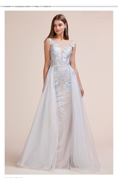 Andrea & Leo Couture A0670 Bridal Gowns Prom Dress Special Occasion Dress - Jazmine & Yazmine Designer Boutique