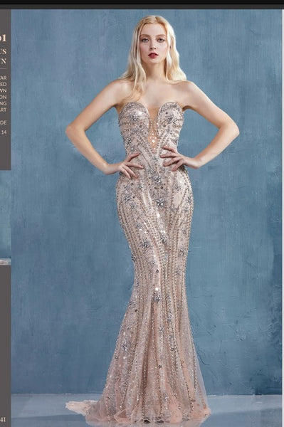 Andrea & Leo Couture A0961 Venus Gown A Star Is Born