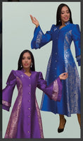 Tally Taylor 4565 1pc Jaquard Women Church Robe - Jazmine & Yazmine Designer Boutique