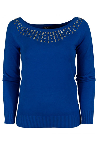 Vila Milano 10211 041    By Sioni Knit Sweater - Jazmine & Yazmine Designer Boutique