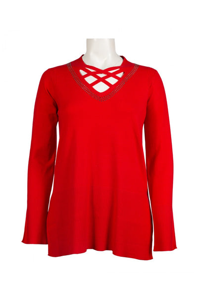 Vila Milano 10534 041   By Sioni Knit Sweater - Jazmine & Yazmine Designer Boutique