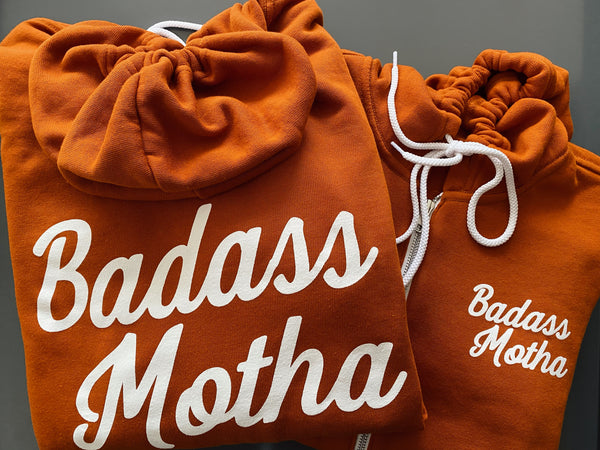 BADASS MOTHA - UNISEX AUTUMN ZIP