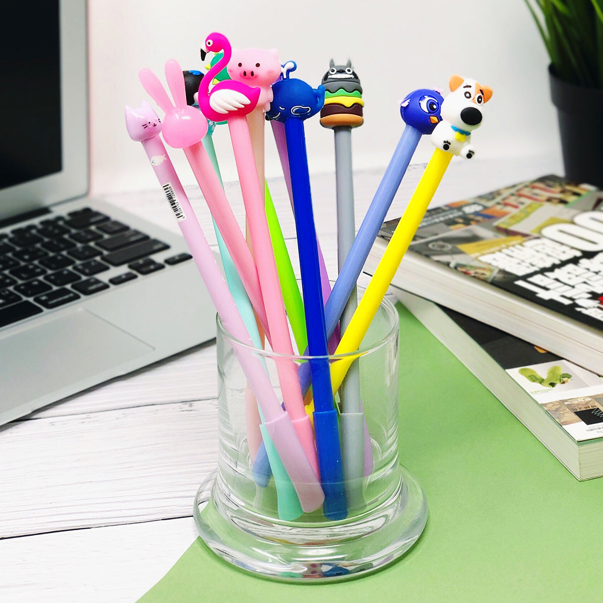 Wrapables Gel Pens School Office Supplies