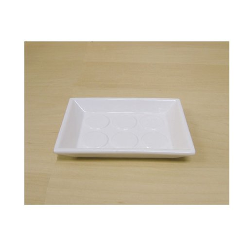 "White Bespoke Soap Dish (4"" x 5.5"")"
