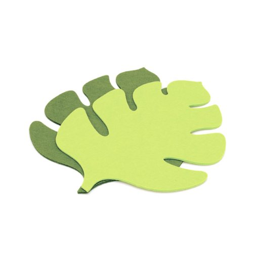 Leaf Cutout Placemat - Light Green