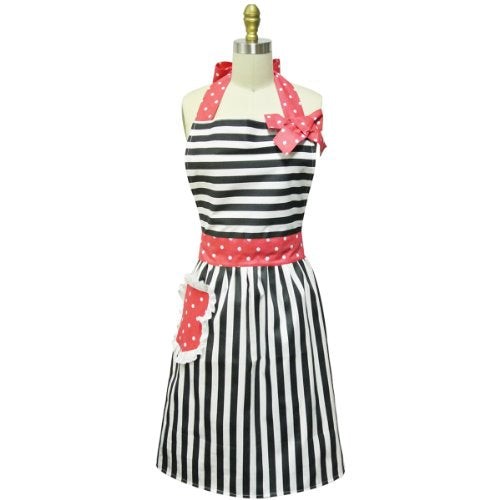 Kella Milla Stripes with Bow Apron