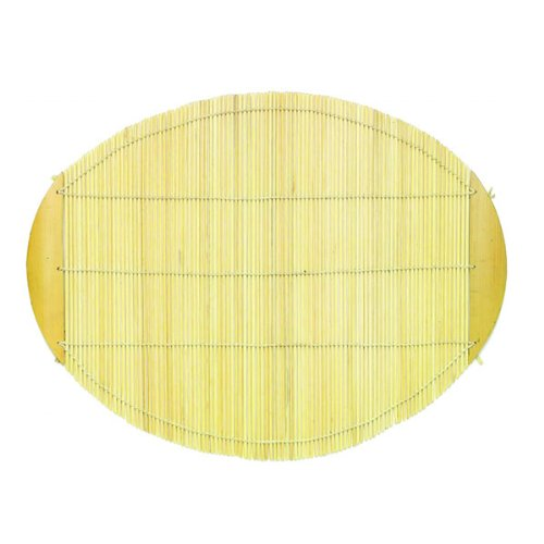 Oval Bamboo Placemat - Natural