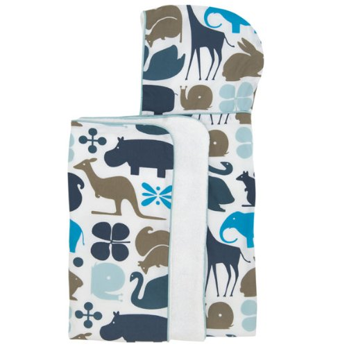 DwellStudio Hooded Towel Gio Aqua