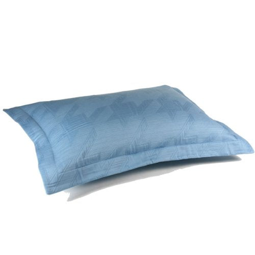 Paris Matelasse Pillow Shams (pair) - Angel Blue, Queen