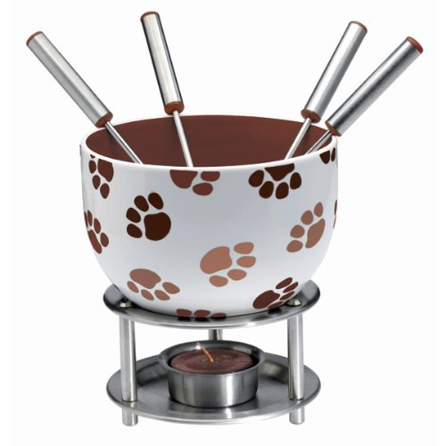 Chocolate Fondue Set - Paws