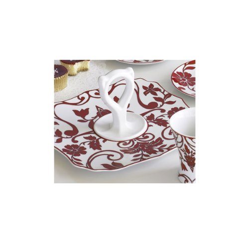 Red Velvet Serving Tray