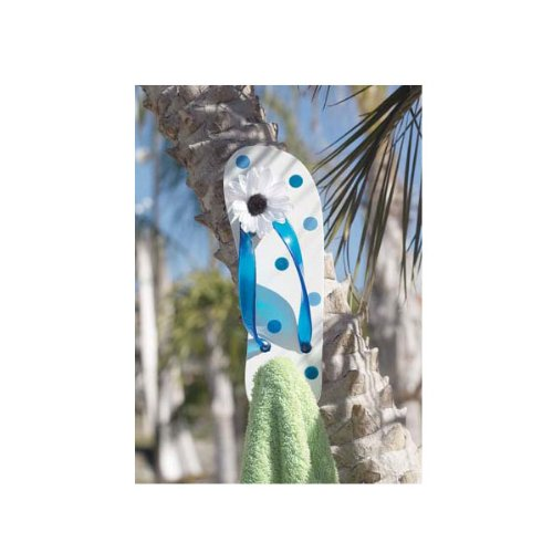 Flip Flop Wall Hook - Blue