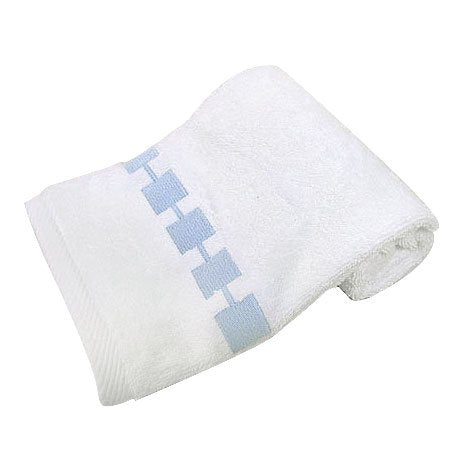 "Pop Grid Hand Towel - Blue (16""x28"")"