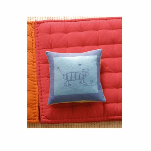 Juwel Buddy Pillow Cover - Blue