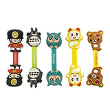 Wrapables Silly Cartoon Characters Cord Organizer / Earphone Wrap (Set of 5)