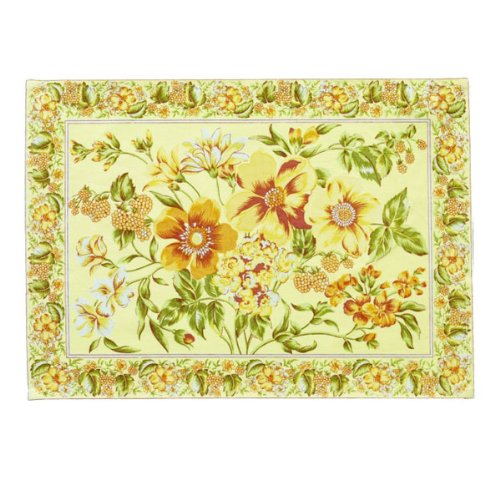 Sikkim Yellow Floral Placemat