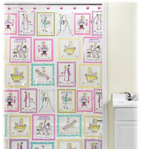 TGIF Vinyl Shower Curtain