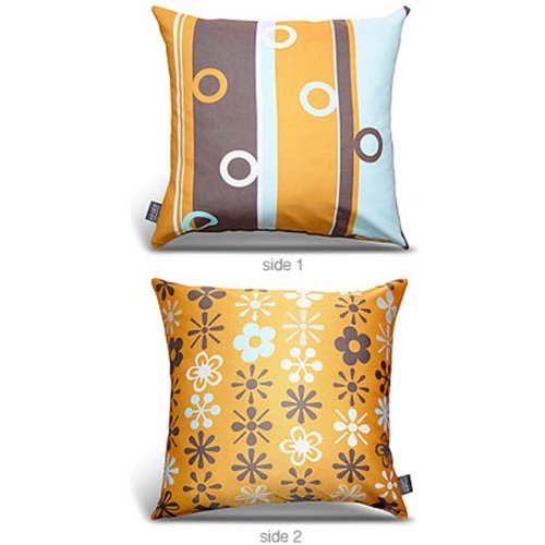 Lifesaver Throw Pillow - Orange