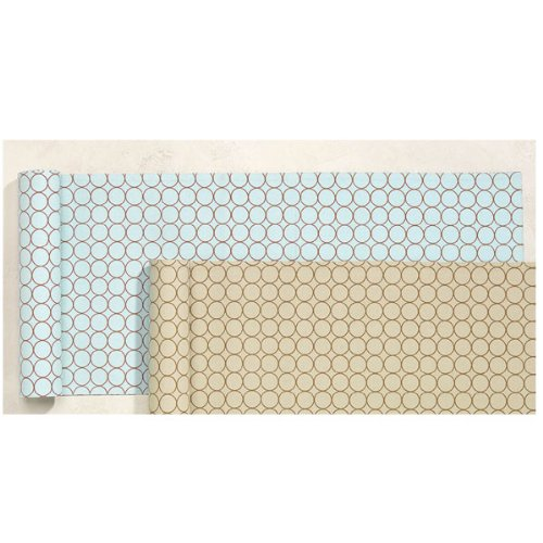 Rings Reversible Table Runner - Blue