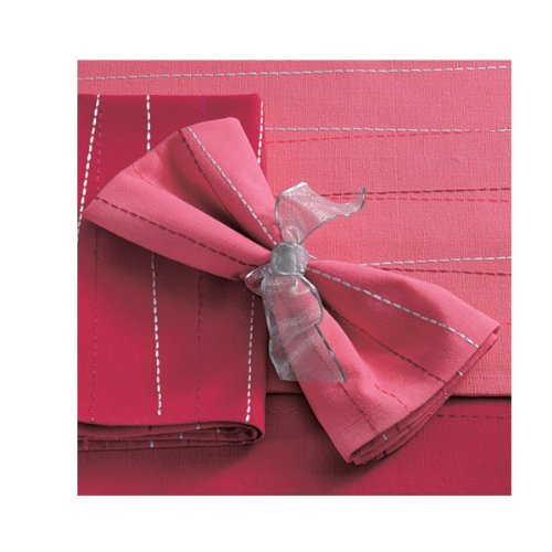 Criss Cross Napkin - Light Pink