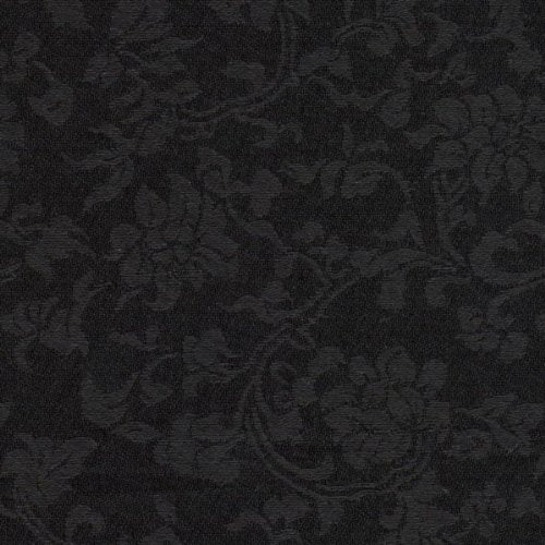 Asian Satin Brocade Decorative Paper - Midnight Black (set of 3)