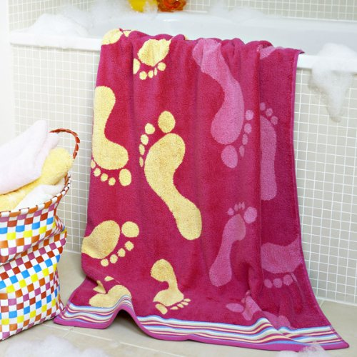 Feeties Bath Towels