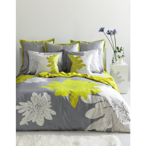 BlissLiving Ashley Citron Duvet Cover Set, Queen