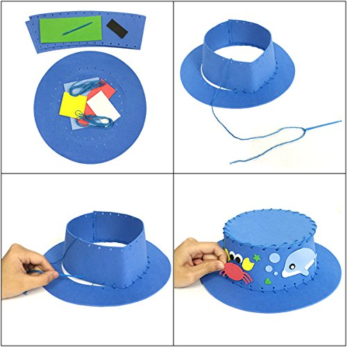 Wrapables DIY Party Top Hat (Set of 3)