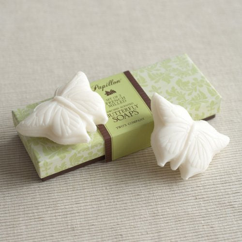 Papillon Butterfly Soaps (set of 2)
