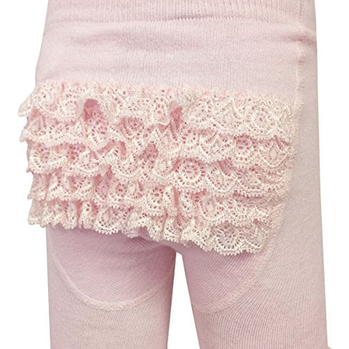 Wrapables Cotton Rhumba Tights for Baby Toddlers (Set of 2)