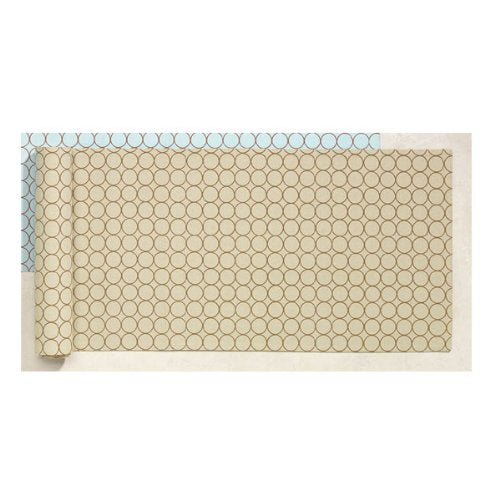 Rings Reversible Table Runner - Beige