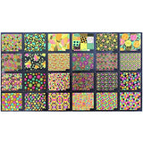 Wrapables 24 Sheets Neon Party Nail Sticker Sheets Nail Art Sheets