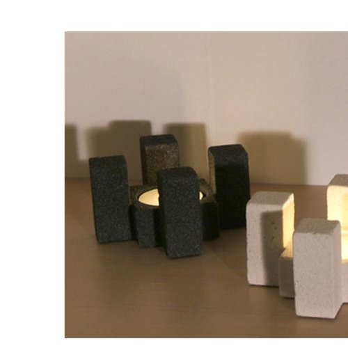 Square Block Tealight Holder