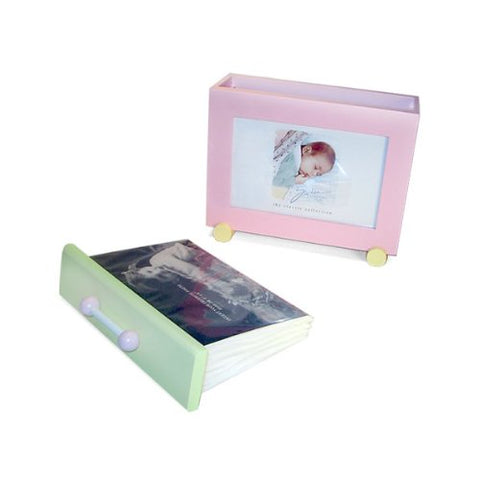 "Faux Leather Photo Frame 8x10"" (set of 2)"