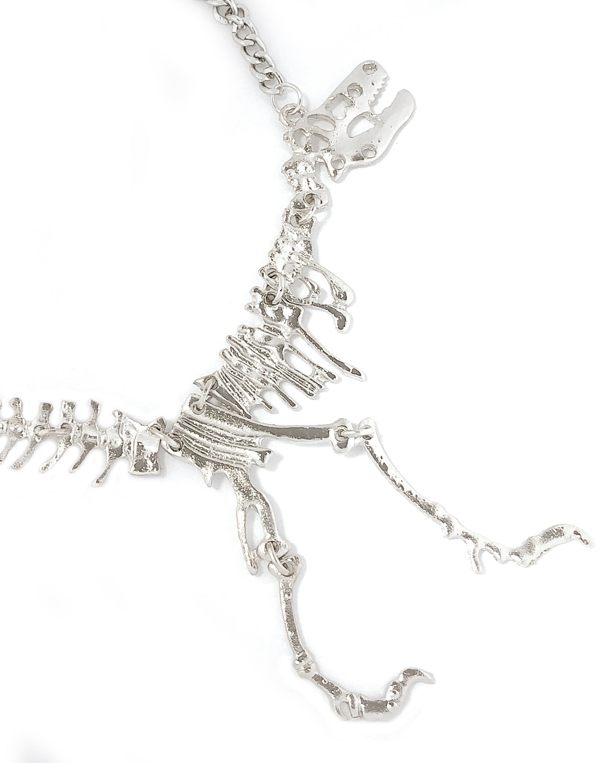 Wrapables® Vintage Short Collar Dinosaur Necklace