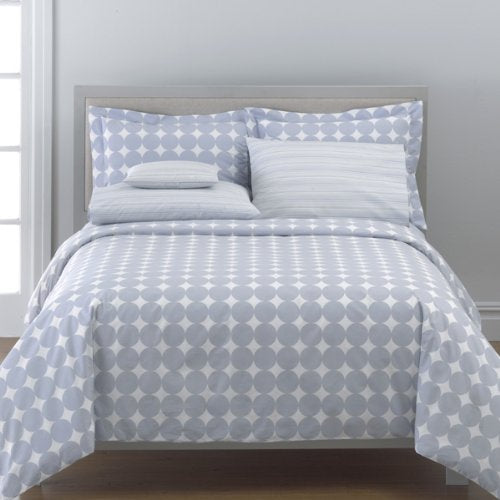 DwellStudio Dots - Light Blue, Pillow Shams (pair), King