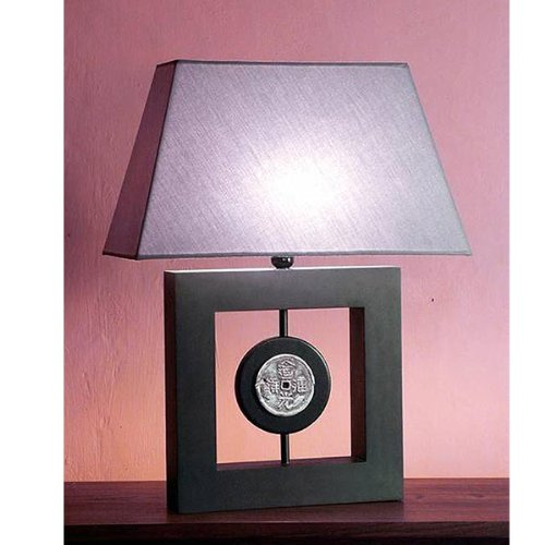 Frame Coin Table Lamp