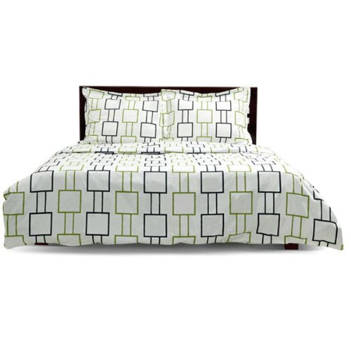 Urban Alternate - Black/Citrus, Fitted Sheet, King