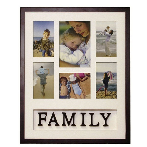 "Family Theme Collage Wall Frame (20"" x 16"")"